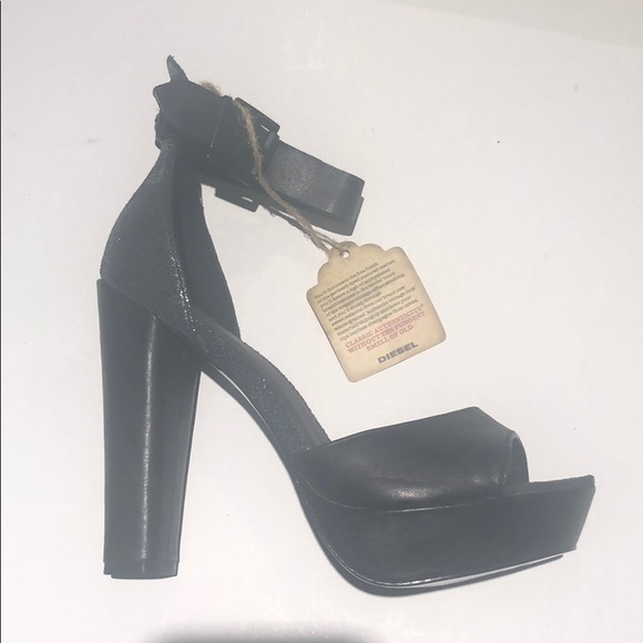 0cb220165c Diesel Shoes | Womens Heels Pumps Black Size 37 Nib | Poshmark
